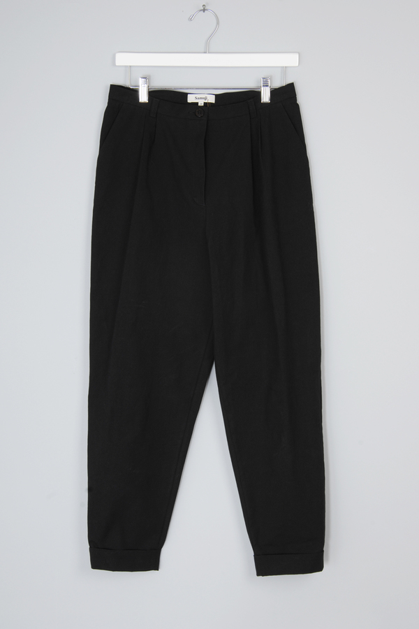 Black Sismi Trouser by Samuji