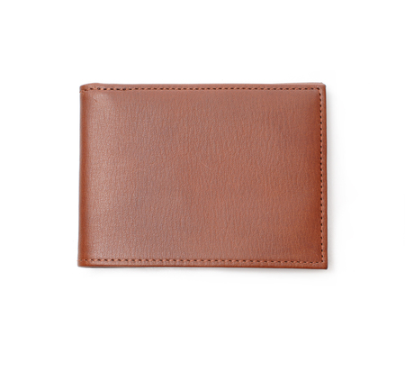 Hayden Leather Brown Denver Bifold Wallet