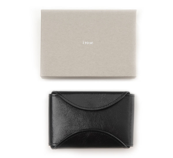 i ro se Black Fold Card Case
