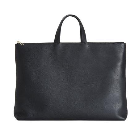 Black Lucid Ninety Bag by Tsatsas