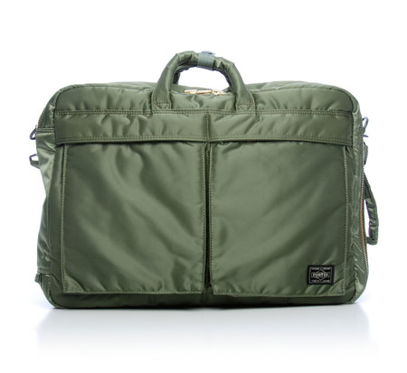 Porter 3 Way Green Tanker Weekender