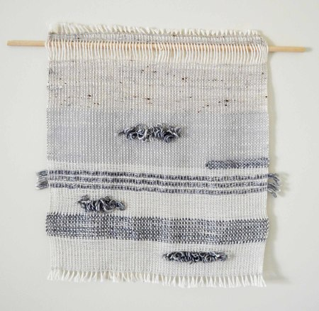 Ana Isabel Textiles Silver Gray Weaving