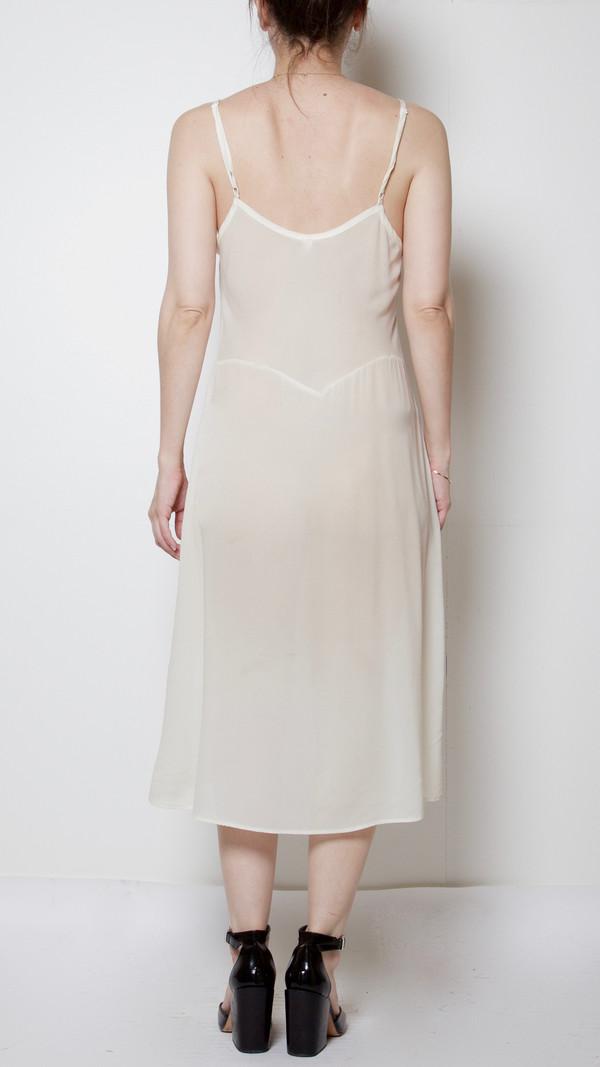 Botanica Workshop Vetiver Slip-Dress in White