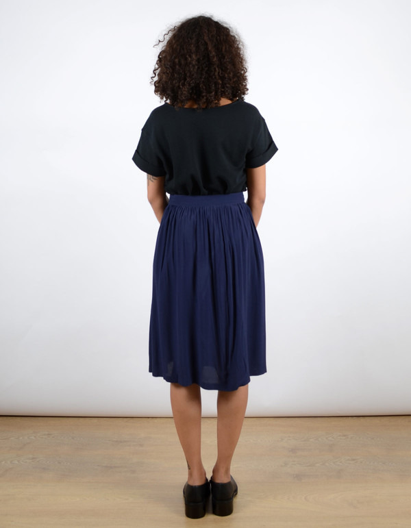 Minimum Maddalena Skirt Dark Iris