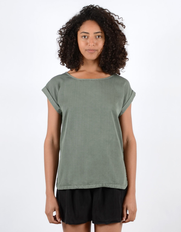 Minimum Wendi Top Castor Green