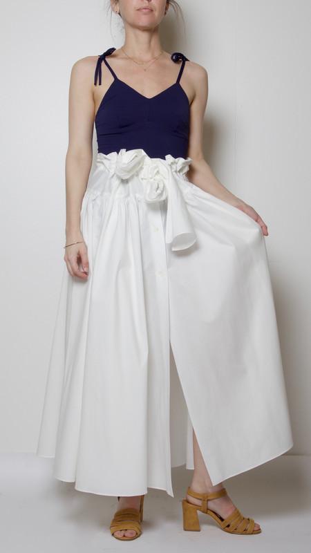 Maryam Nassir Zadeh Carlita Skirt in White