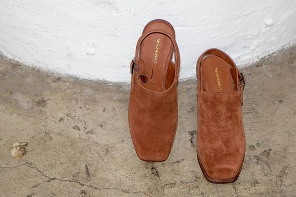 Intentionally Blank HONCHO DARK TAN SUEDE