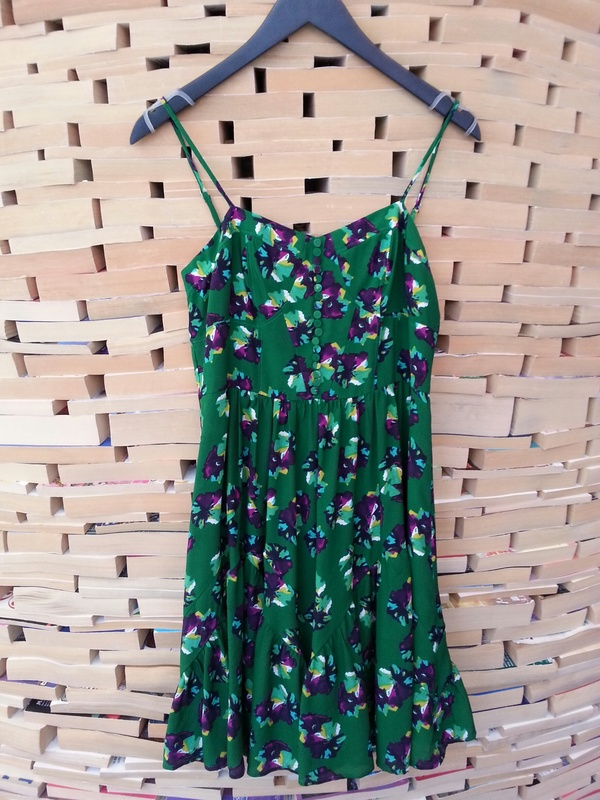 Emily Floral Print Dress