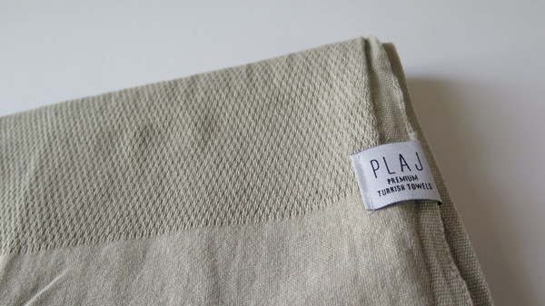 Plaj Portland Stone Washed Towel- Sand
