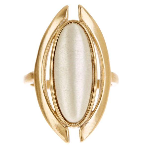 Tiffany Kunz Duality RIng Bronze and Silver