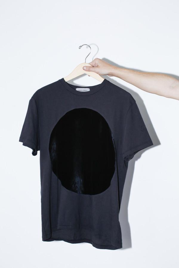 Correll Correll Velvet Circle T-shirt - Black