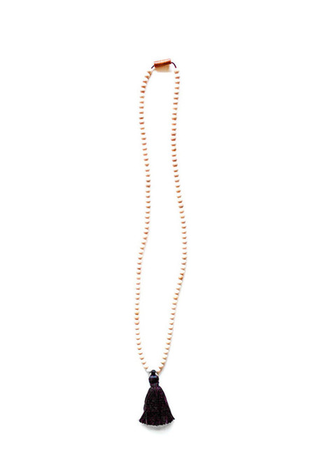 Ashwood Avenue Santo Necklace Black