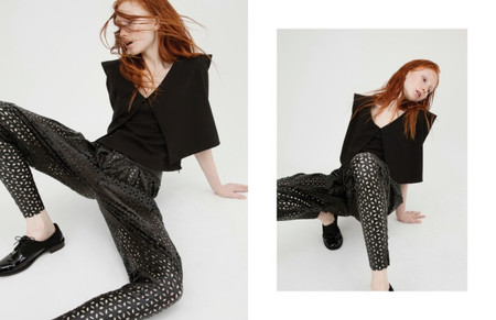 Cihuah C21#06 - LACE TROUSERS