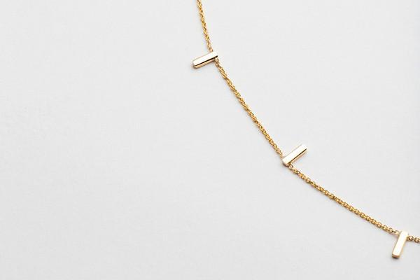 Hortense Multi Tic Tac Necklace