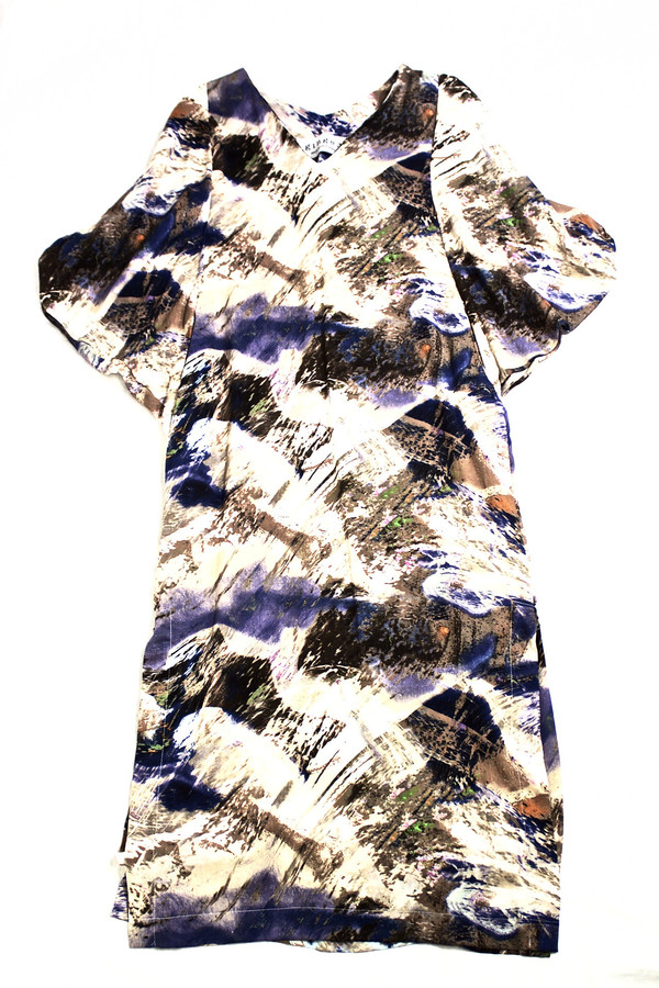 Ginger Caftan Costal Abstract Caftan