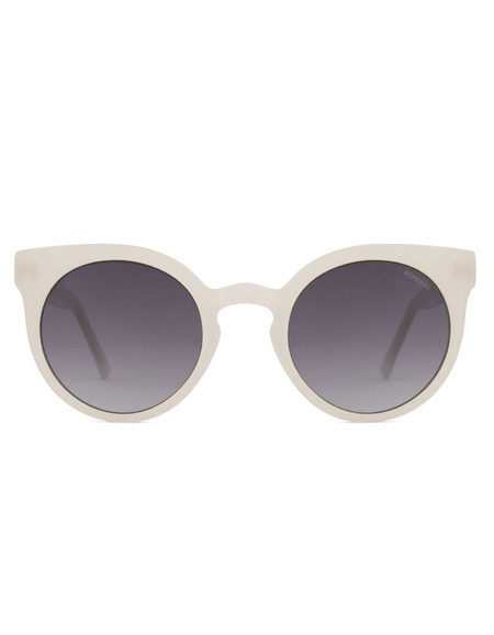 Komono Lulu Sunglasses Milky White
