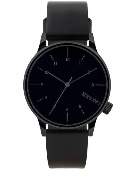 Komono Winston Regal Watch All Black