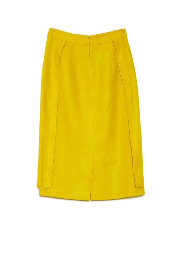 Carleen Apron Skirt - Citrus