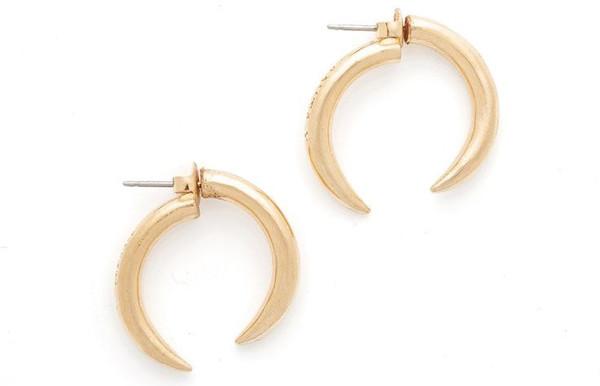 Anita K. Anita K Barricaded Front Back Earrings