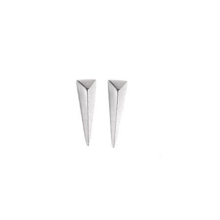 Elaine Ho Long Triangle Studs
