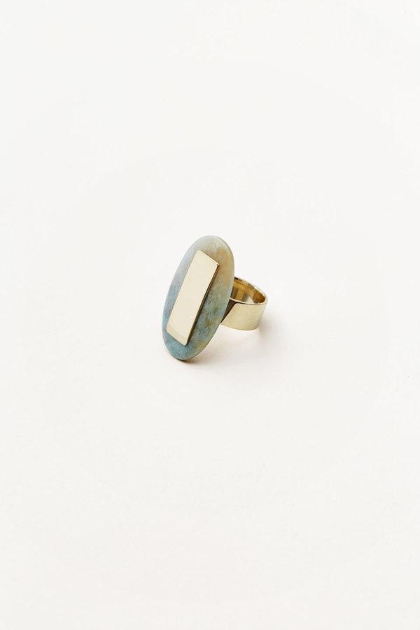 Kathleen Whitaker Oval Quartz Ring