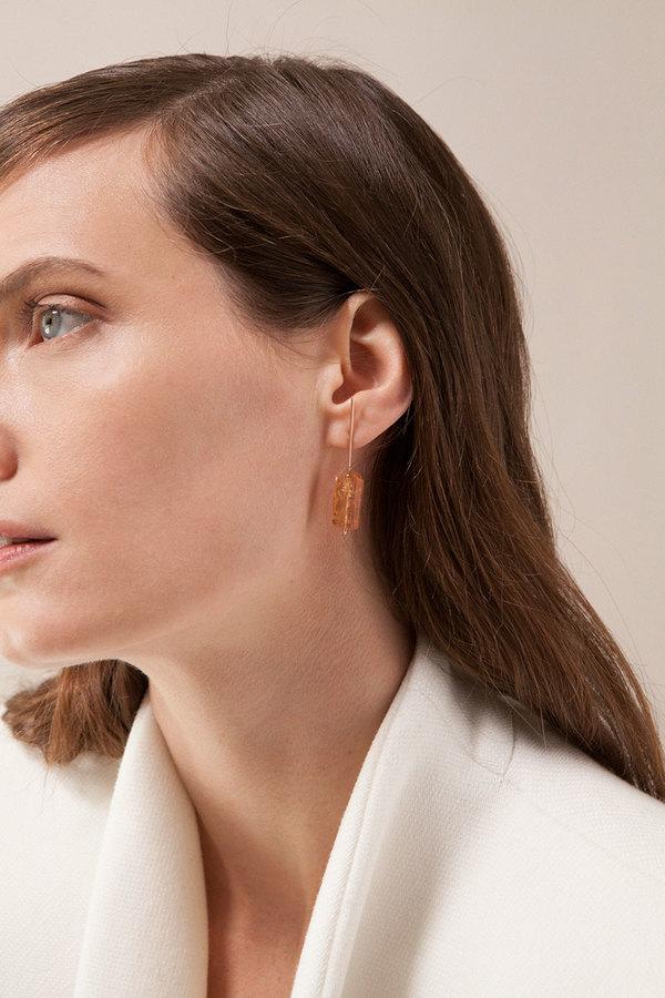 Kathleen Whitaker Imperial Topaz Earrings