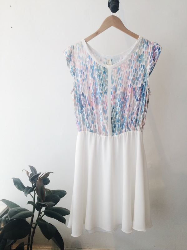 Eve Gravel Granita Dress