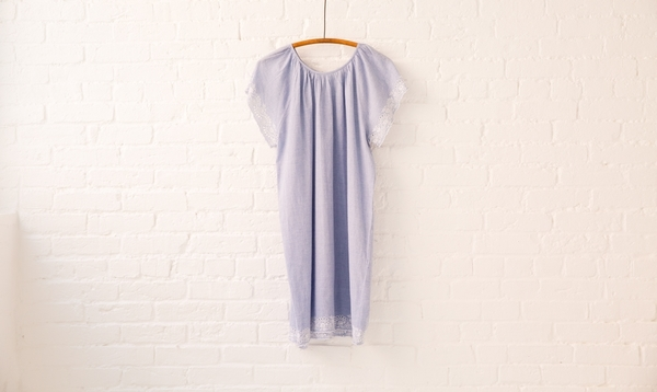 vanessa bruno athé chambray dress