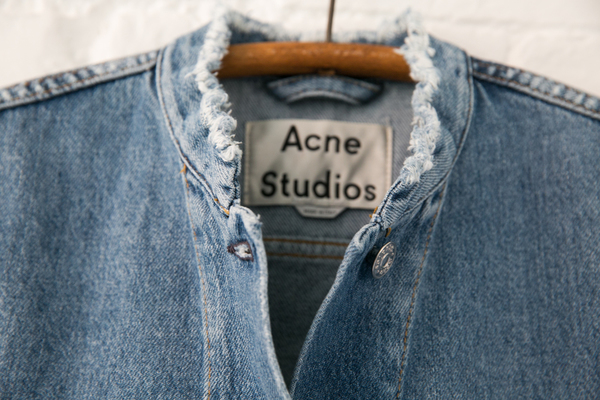 acne studios top fray jacket