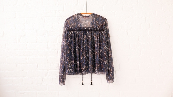 see by chloe woodstock blouse
