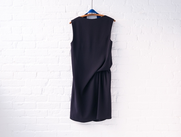 acne studios rebecca fluid dress