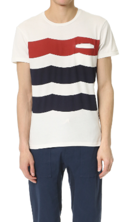 Men's Sol Angeles Americana Welt Crew Tee