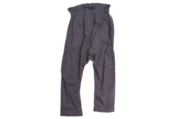Pietsie Fez Pant in Gray Cotton