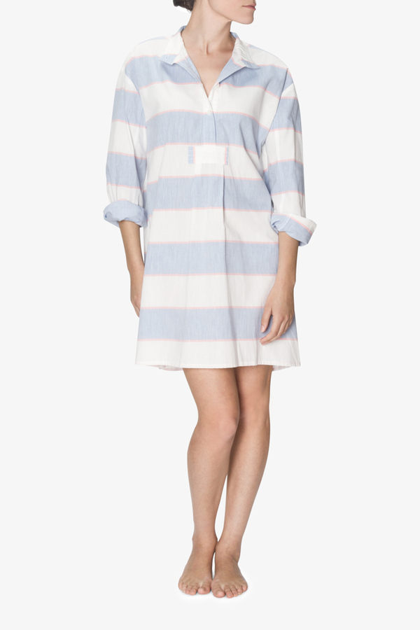 The Sleep Shirt Short Sleep Shirt Montauk Cotton