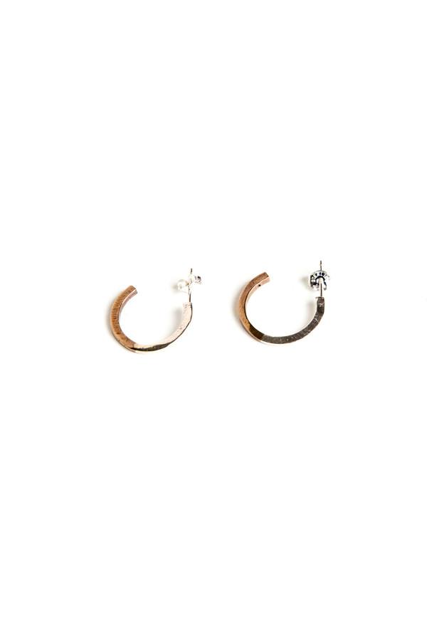 Open House Bronze/Silver II Tone Hoops