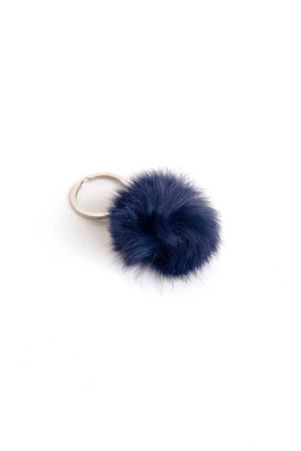 ina.seifart Fur & Wood Fellbommel Keychain