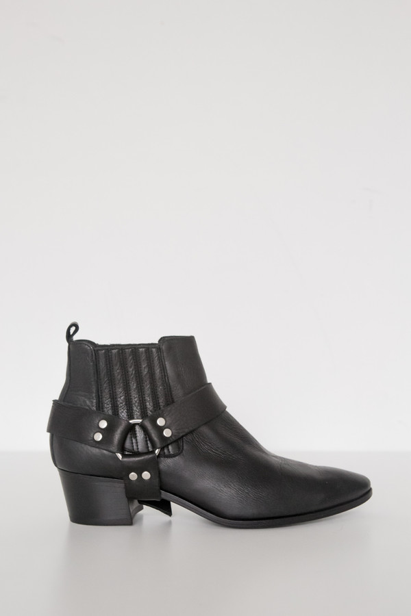 Assembly New York Black Harness Boot