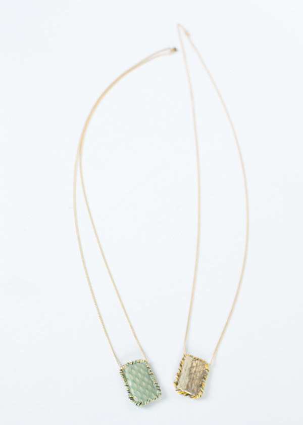 5 Octobre Smoky Necklace