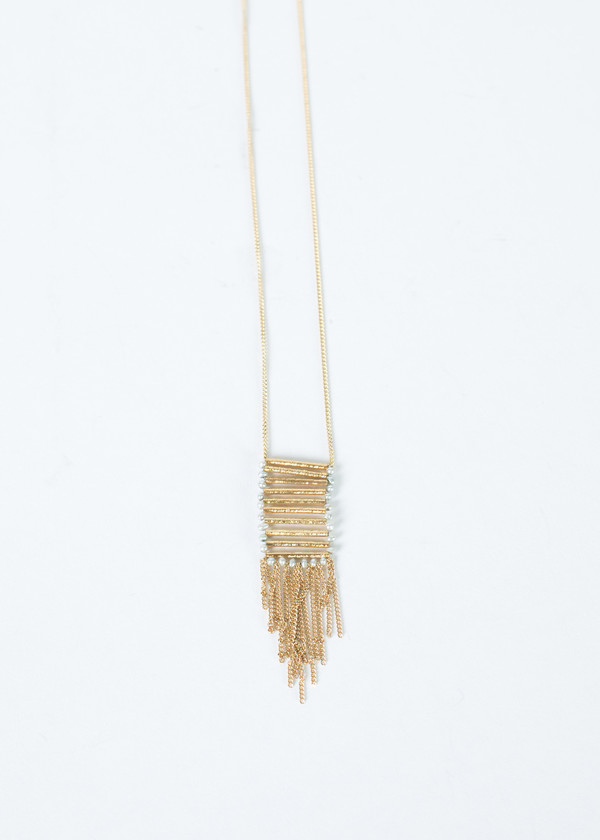 5 Octobre Velvet Ladder Necklace