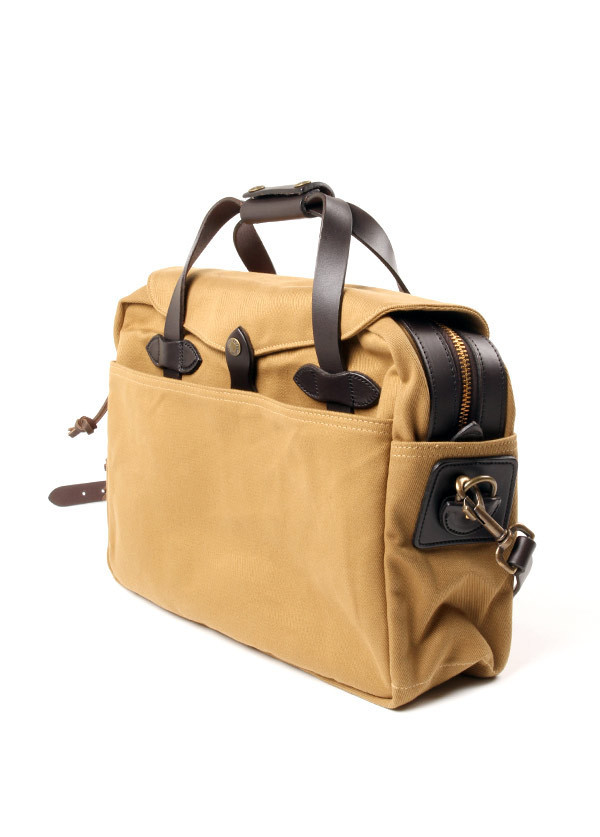 Filson - Briefcase Computer Bag in Tan