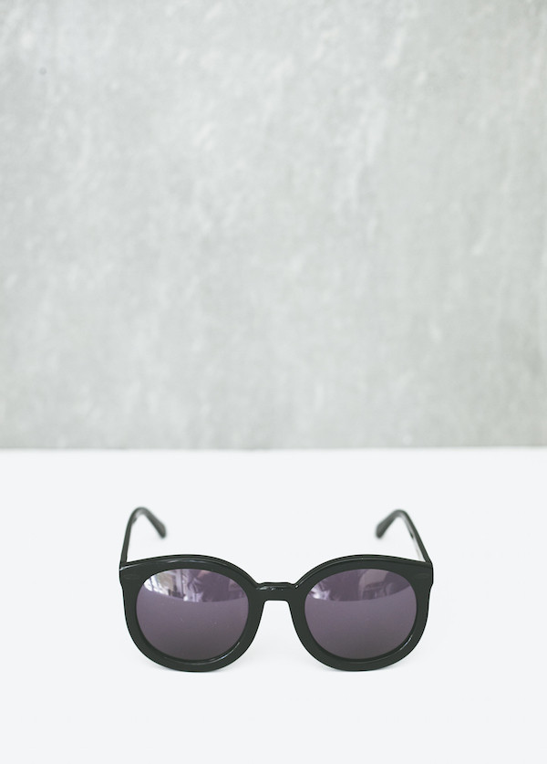 Karen Walker Eyewear Super Duper Strength in Black