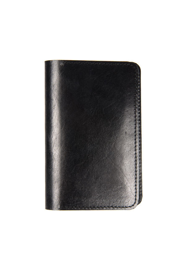 The Stowe - Field Notes Wallet in Black