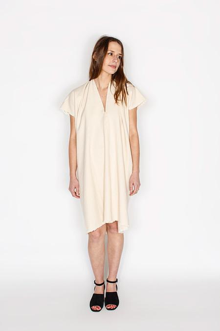Miranda Bennett - Everyday Dress, Cropped Denim in Natural