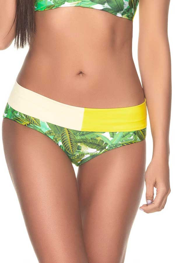 Estivo Bikini Bottom in Jungle Greens