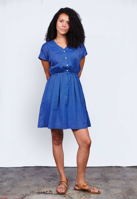 Deshal Bristi V-Neck Dress