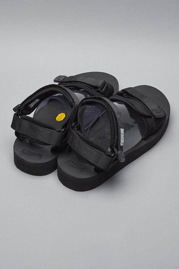 Suicoke Nylon Cel-V Sandal - Black