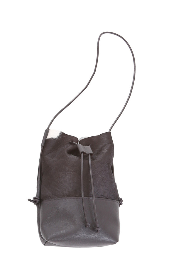 Minnie + George Hair-On Bucket Bag