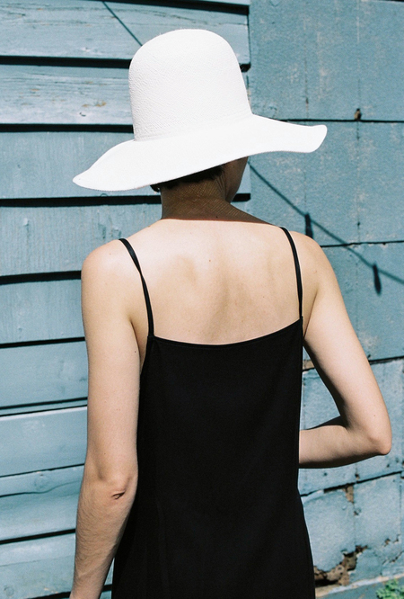 Clyde Panama Hat - white