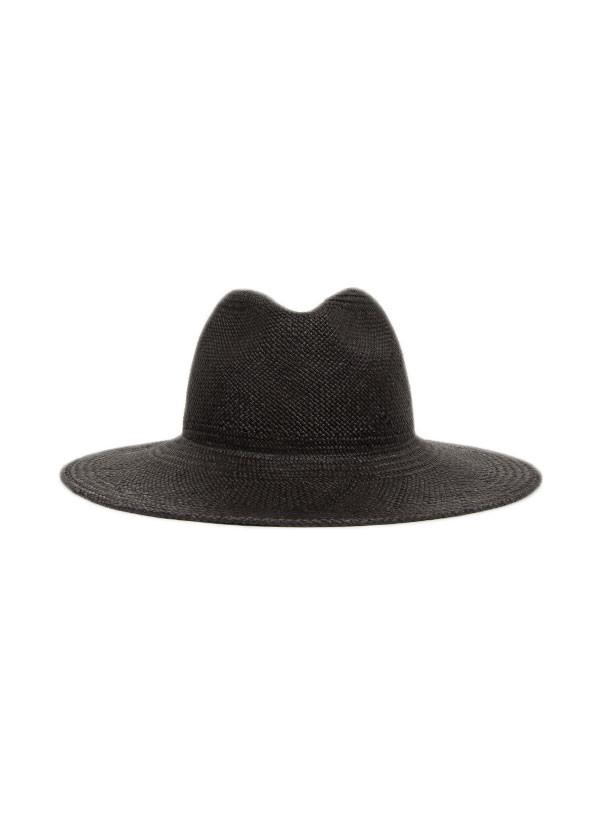 Janessa Leone - Rita Black Panama Hat