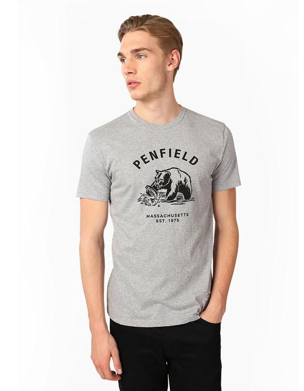 Penfield Men's Ursus Tee Grey